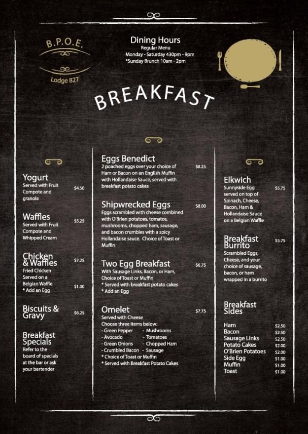 pdf breakfast