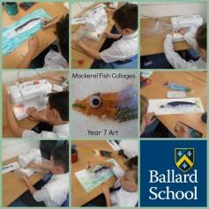Ballard School Art Fish Mackerel Sewing Machine
