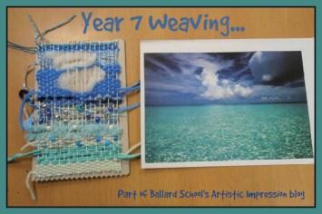 Ballard School Art Weaving