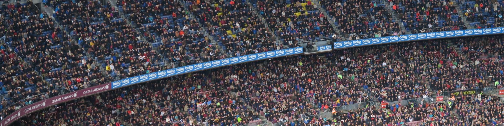 Il Nou Camp di Barcellona