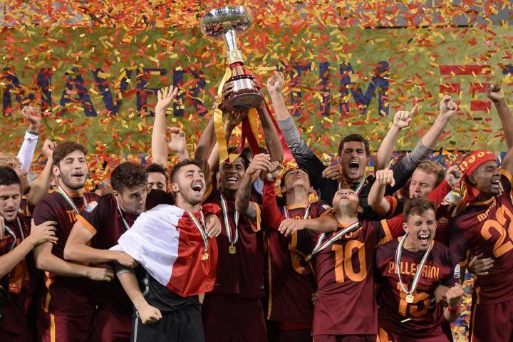 La Roma Campione d'Italia Primavera 2016