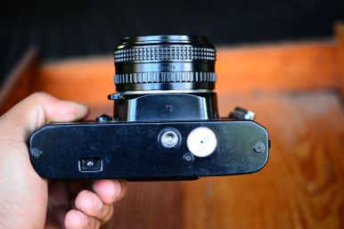 Chinon CM4S พร้อมเลนส์ Ricoh 50mm F2 ballcamerashop (6)