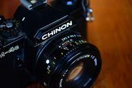 Chinon CM4S พร้อมเลนส์ Ricoh 50mm F2 ballcamerashop (7)