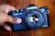 Chinon CM4S พร้อมเลนส์ Ricoh 50mm F2 ballcamerashop (8)