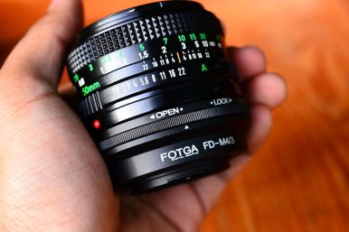 Canon FD 50mm 1.8 For Micro Four Third (Olympus OM,EP Panasonic G,GF,GX,GH) ballcamerashop (1)