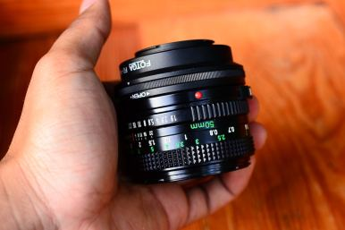 Canon FD 50mm 1.8 For Micro Four Third (Olympus OM,EP Panasonic G,GF,GX,GH) ballcamerashop (6)