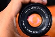 Canon FD 50mm 1.8 For Micro Four Third (Olympus OM,EP Panasonic G,GF,GX,GH) ballcamerashop (8)