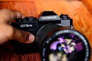 Cosina CT1EX พร้อมเลนส์ 28 - 200mm (3)