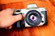 กล้องฟิล์ม Nikon F60 พร้อมเลนส์มือหนุน Helios 44M-4 สภาพสวย (2)