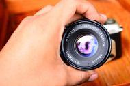 กล้องฟิล์ม Nikon F60 พร้อมเลนส์มือหนุน Helios 44M-4 สภาพสวย (9)