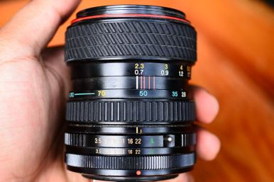 Tokina 28 - 80mm For Canon FD (8)