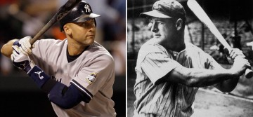 Jeter and Gehrig, the spirit of the Yankees