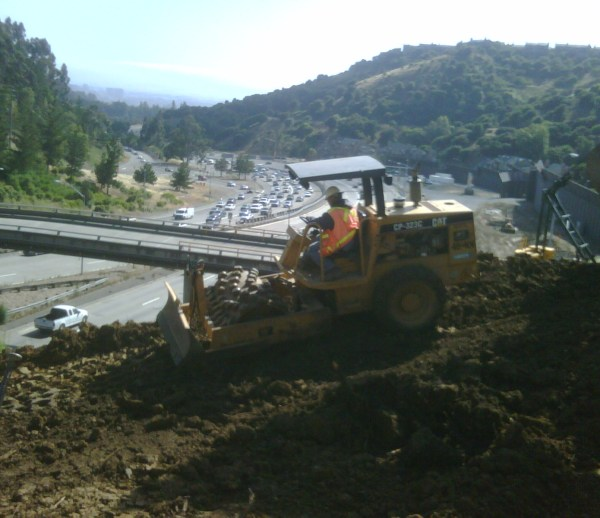 JOB 157 – Caldecott Tunnel Grading – Photo 11