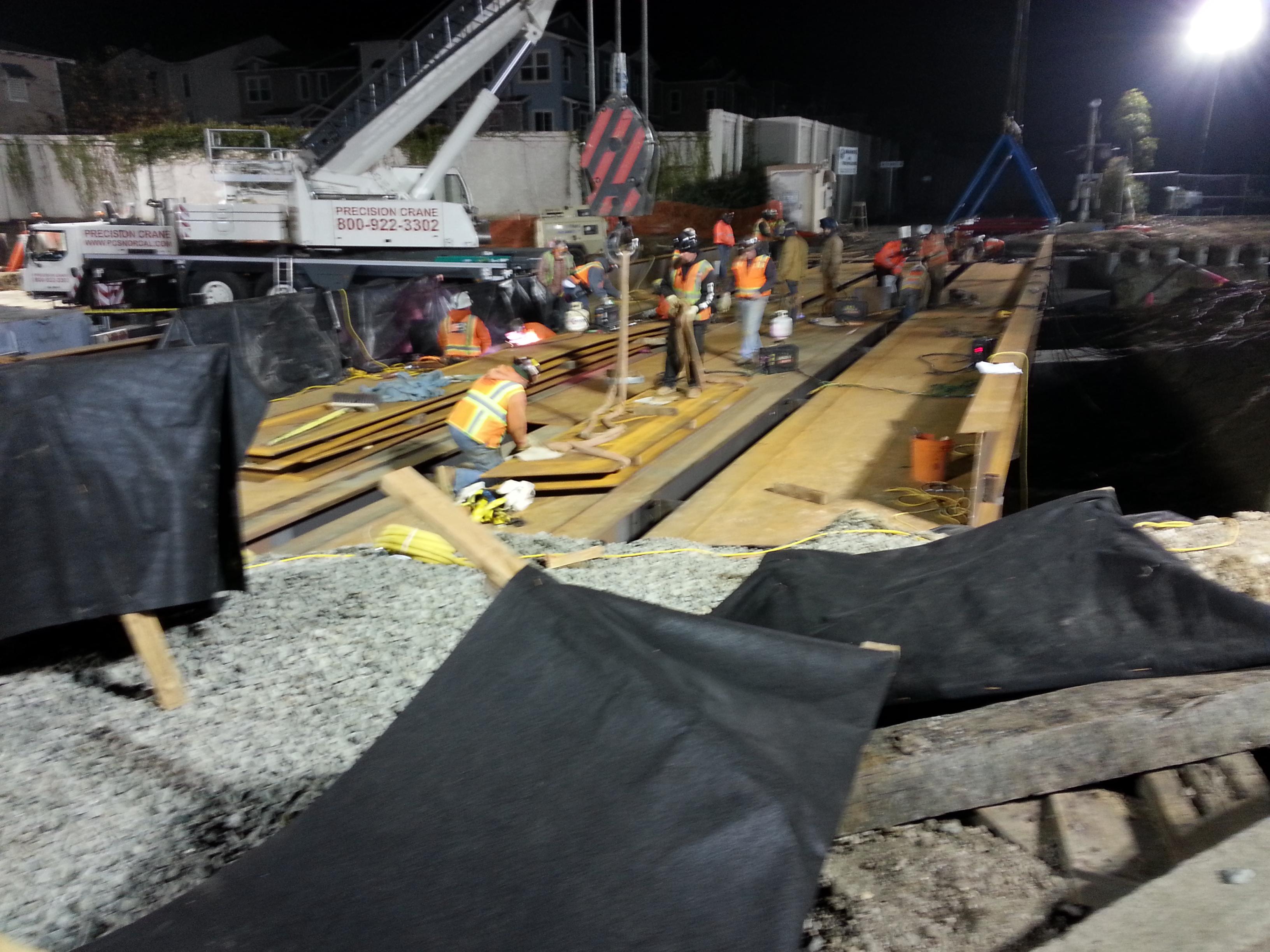 Job 185 - Bradley Moody Underpass - 15 - Last Bridge Section