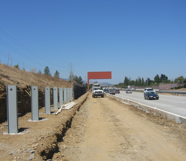 Job 126 - Hwy 85 Retaining Walls
