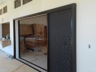 Large sliding doors