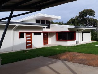 Wander house completed 9 from carport view