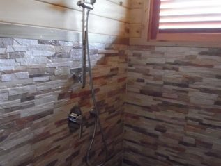 done bathroom shower
