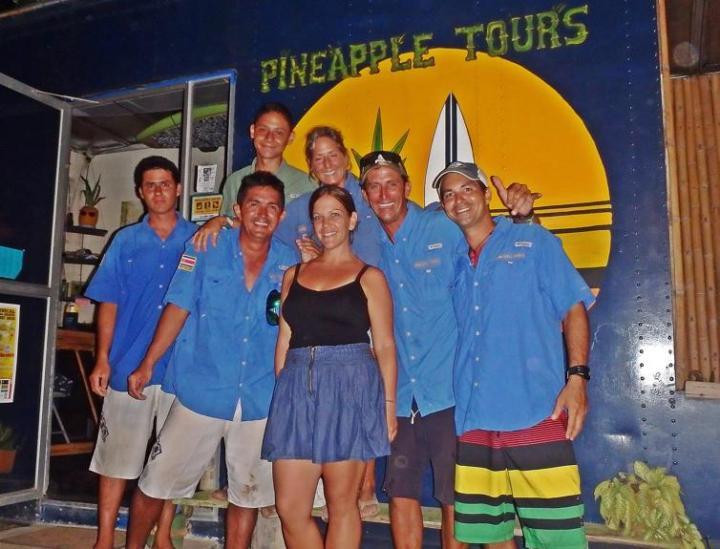 Pineapple Tours #kayak #sup #costaballenalovers #puravida #osa #tours #team