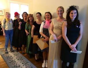 Murder Mystery Party in Fuquay-Varina photo courtesy of Bob & Suzanne Casey