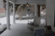 Ballentine-Spence House Porch