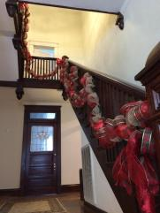 Mistletoe Madness Holiday Market at Ballentine-Spence House garland from Wreaths by Debbie