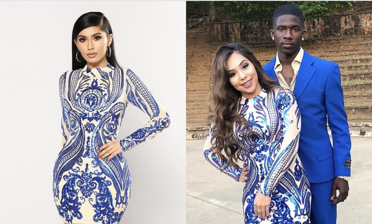 ballin' on a budget teen turns her fashion nova dress