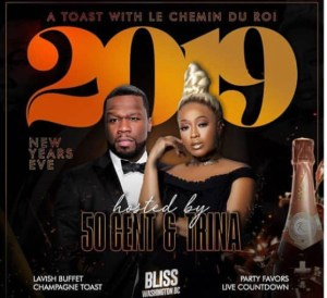 DC - 50 Cent & Trina 12/31 @ Bliss DC |  |  |