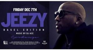 MIA - Jeezy 12/7 @ Exchange Miami |  |  |