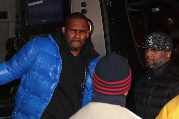 R Kelly re arrested
