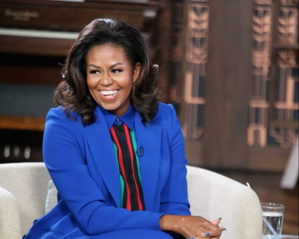 Michelle Obama BECOMING HISTORY