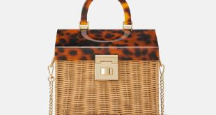 Zara Raffia City Bag
