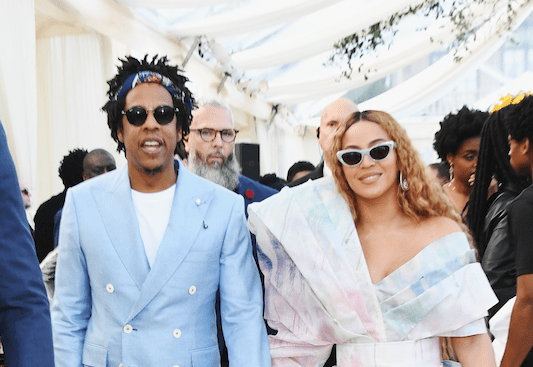 Beyonce & Jayz for GLAAD
