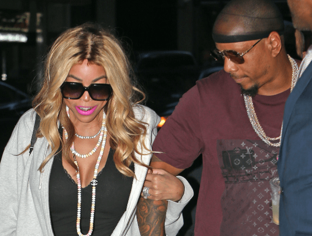 Wendy Williams and Kevin Hunter Baby