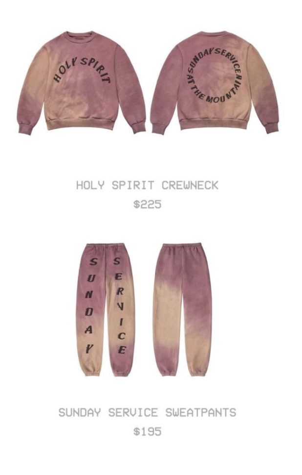 Kanye West's Church Clothes