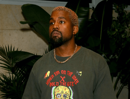 Kanye West On David Letterman's Show