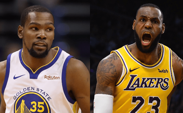cf5a2ad487cc LeBron James And Kevin Durant Talk Being Financially Exploited