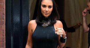 Kim Kardashian on Kimono