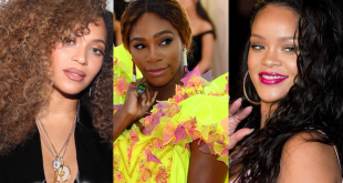 Beyonce, Serena and Rihanna on Forbes