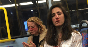 Lesbian attacked in london