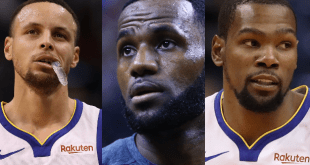 Lebron Steph Kevin for Forbes List