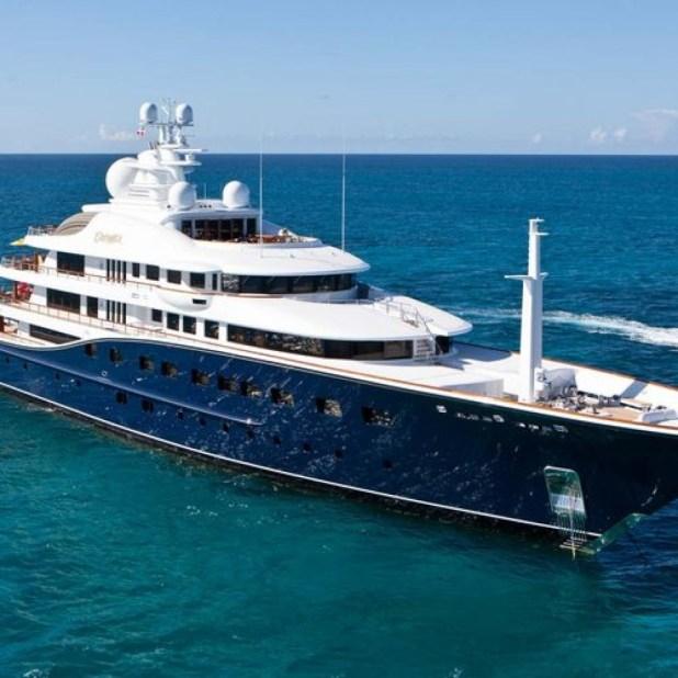 Magic Johnson's Yacht