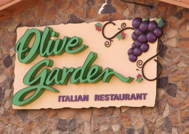Olive Garden Free PAsses