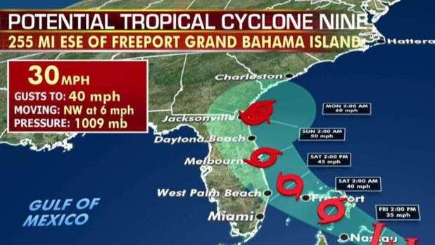 Tropical Cyclone Nine