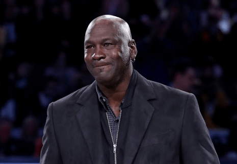 Michael Jordan Donates