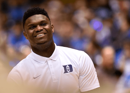 Zion Williamson for Gatorade