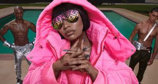 Nicki Minaj Fendi for ELle