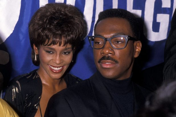 Eddie Murphy and Whitney