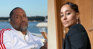 Kenya Barris and Tracee Ellis
