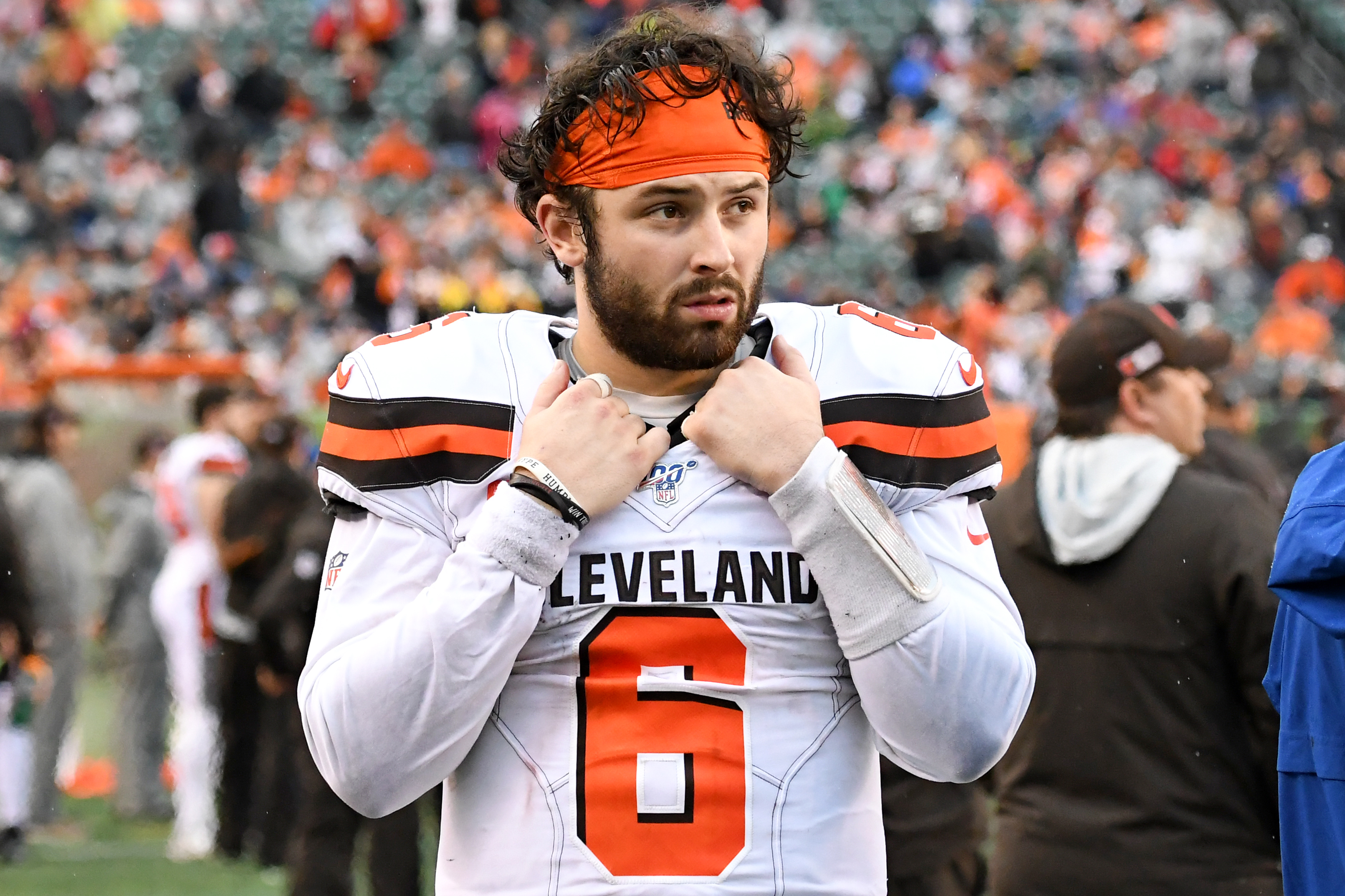Tony Grossi suspended for calling Browns' Baker Mayfield slur